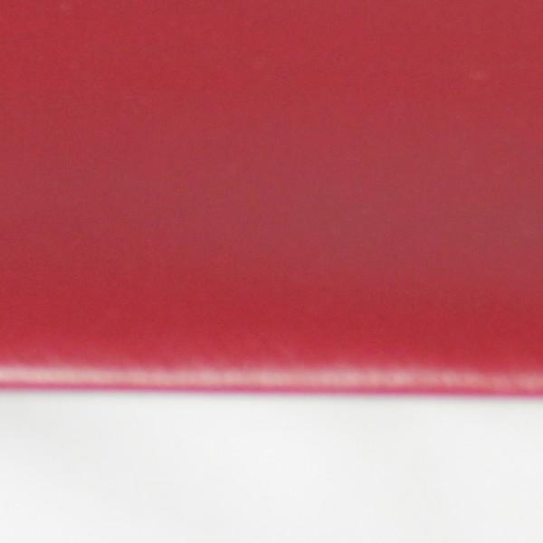 PVC matt mit Saum und ohne Ösen, purpurrot