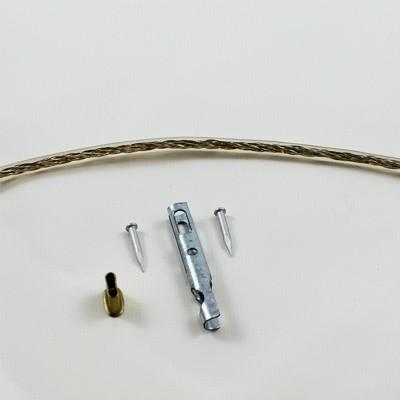 Zollseil mit Zollendstücken, 6mm, 20,2m lang