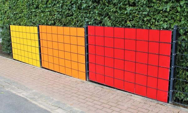 Sichtschutzstreifen PVC GLÄNZEND individuell