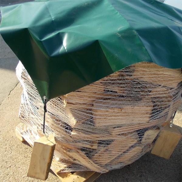 Abdeckplane für Brennholz, 680g/m²