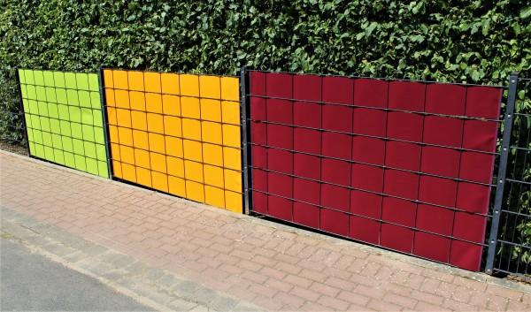 Sichtschutzstreifen PVC MATT individuell