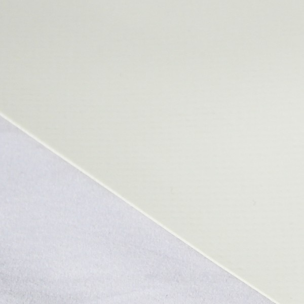 PVC Rollenware matt 3,00m breit, cremeweiß