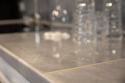 Tischdecke 90cm breit / 2,2mm stark PVC transparent/klar